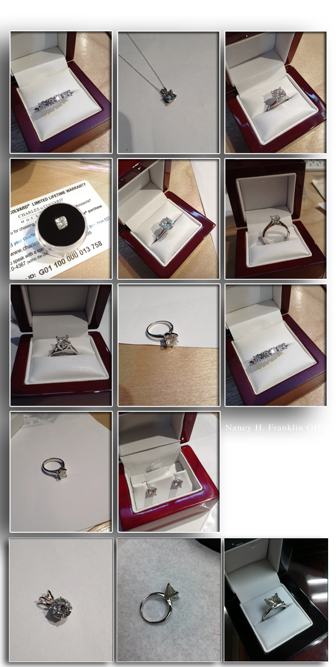 actual moissanite customers orders