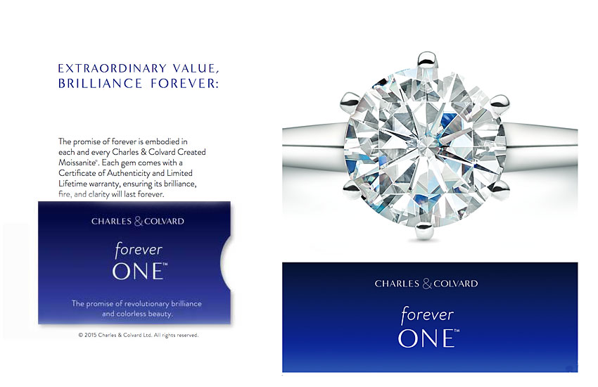 forever one moissanite information promise