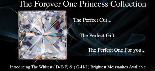 Princess Loose Moissanite