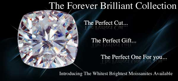 Forever Brilliant Cushion Solitaires