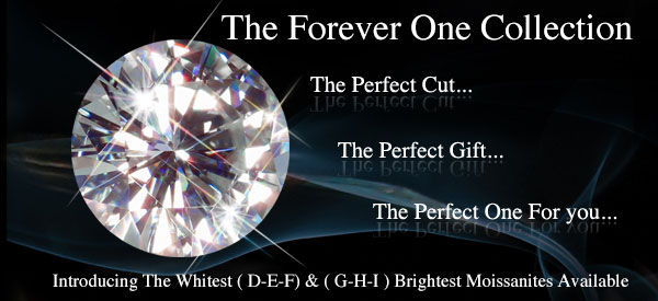 Forever One Loose Moissanite