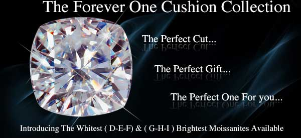 Cushion Cut Solitaires