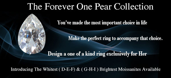 Pear Shape Loose Moissanite
