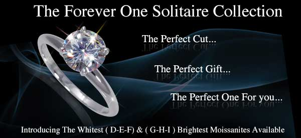 Round Solitaire Rings 4 Prong Setting