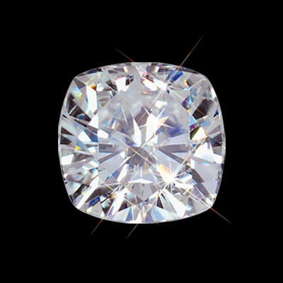 5.00 mm (5/8 carat) Forever Brilliant Loose Cushion Cut Moissanite