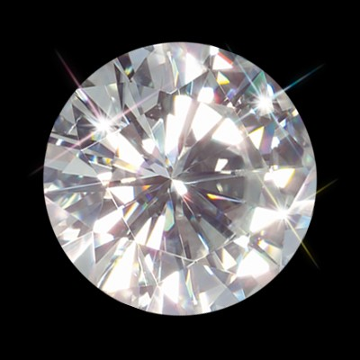 Forever One 7.50 mm (1.50 Carat)  Loose Round Moissanite