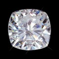 7.50 mm (2.00 carat) Forever One GHI Loose Cushion Cut Moissanite