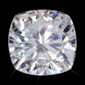 10.00 mm (5.00 carat) Forever One GHI Loose Cushion Cut Moissanite