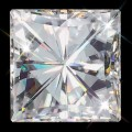 9.00 mm (4.30 carat) Forever One GHI Princess Cut (Square Brilliant) Loose Moissanite