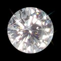 7.50 mm (1.50 Carat) Loose Round Forever One Moissanite GHI