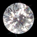 8.50 mm (2.50 carat) Loose Round Forever One Moissanite GHI