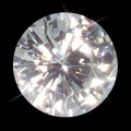 8.00 mm (2.00 carat) Loose Round Forever One Moissanite GHI