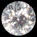 10.00 mm (3.60 Carat) Loose Round Forever One Moissanite GHI