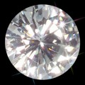 9.00 mm (3 carat) Loose Round Forever One Moissanite GHI
