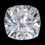 10.50 mm (5.80 carat) Forever Brilliant Loose Cushion Cut Moissanite
